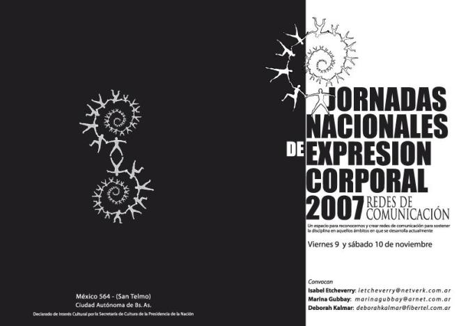 Programa JNEC - frente - Rubén Longas