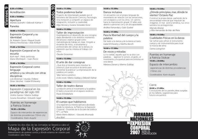 Programa JNEC- Rubén Longas - dorso